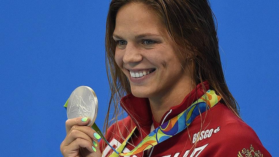 Юлия Ефимова снова завоевала олимпийскую награду