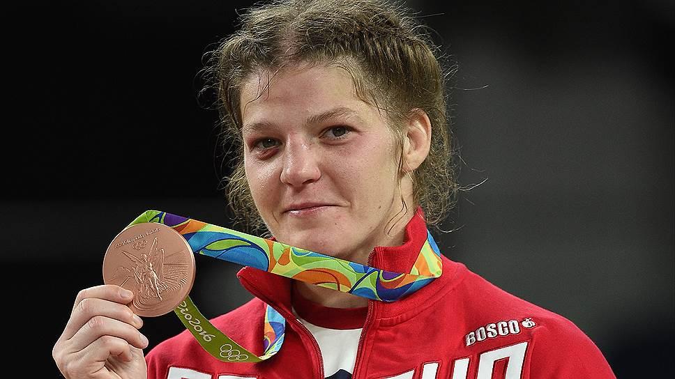 Как Екатерина Букина завоевала бронзу в вольной борьбе