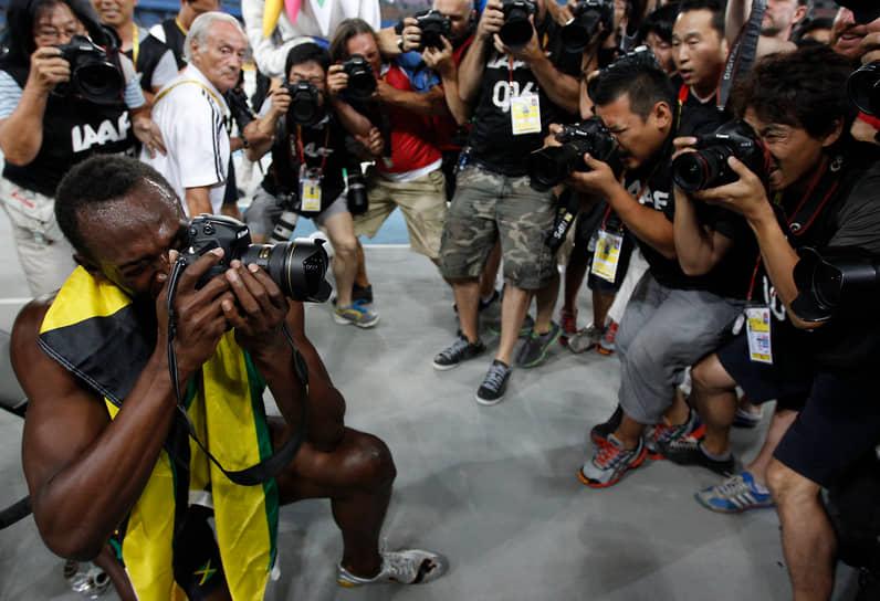 Главным рекордом скорости Усейна Болта остается 9,58 секунды на забеге в 100 м на чемпионате мира по легкой атлетике в Берлине в 2009 году. Этим результатом спринтер улучшил свой предыдущий мировой рекорд. До сих пор это время на стометровке остается непревзойденным