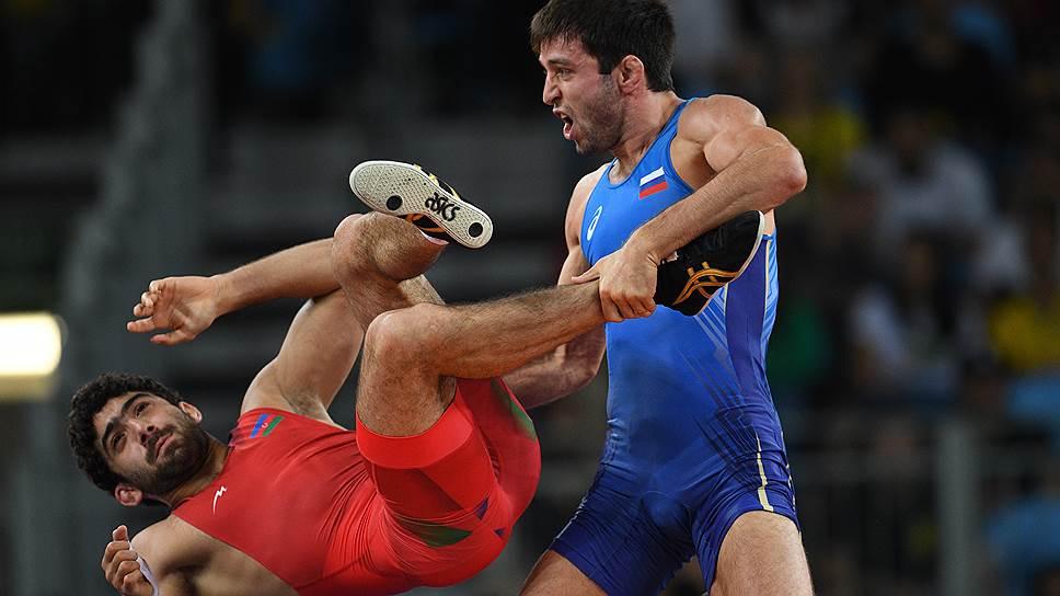 Борец Сослан Рамонов принес сборной России 19-е золото