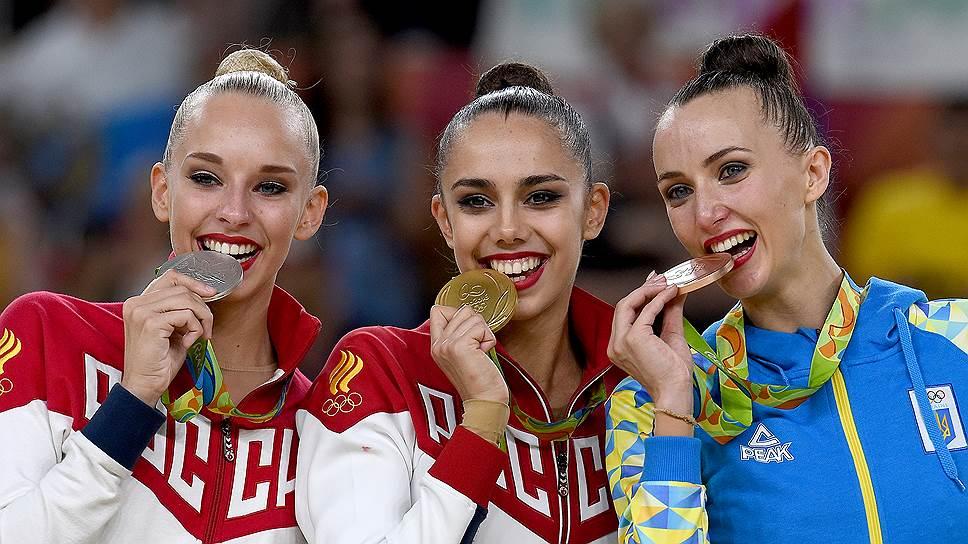 Гимнастка Маргарита Мамун выиграла золото в Рио