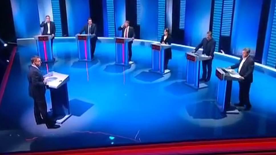 Как начались предвыборные дебаты