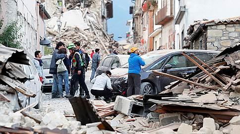 Число жертв землетрясения в Италии превысило 120 человек  / Пострадали три области — Лацио, Умбрия и Марке