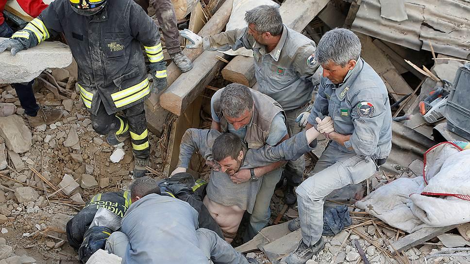 Как началось землетрясение в Италии