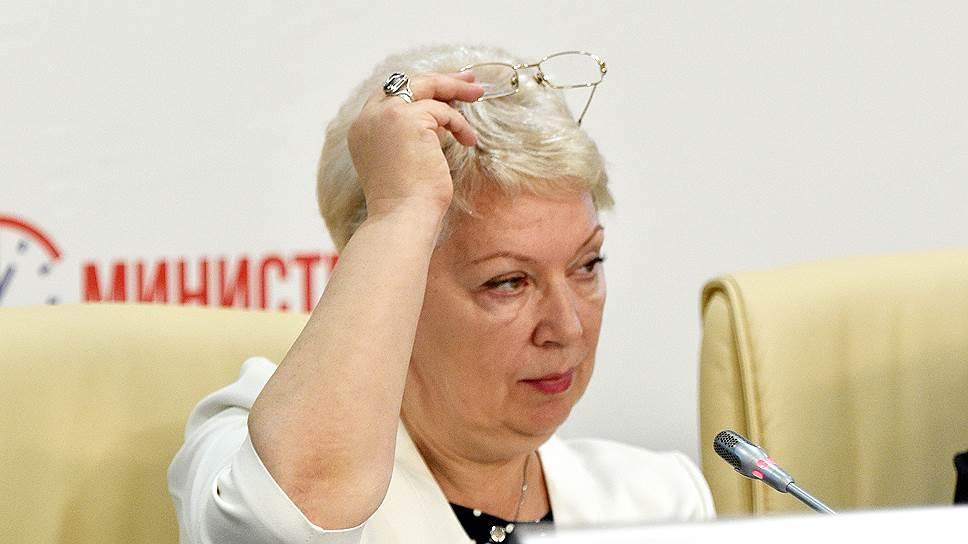 Как Ольга Васильева пообещала формировать школьника как человека