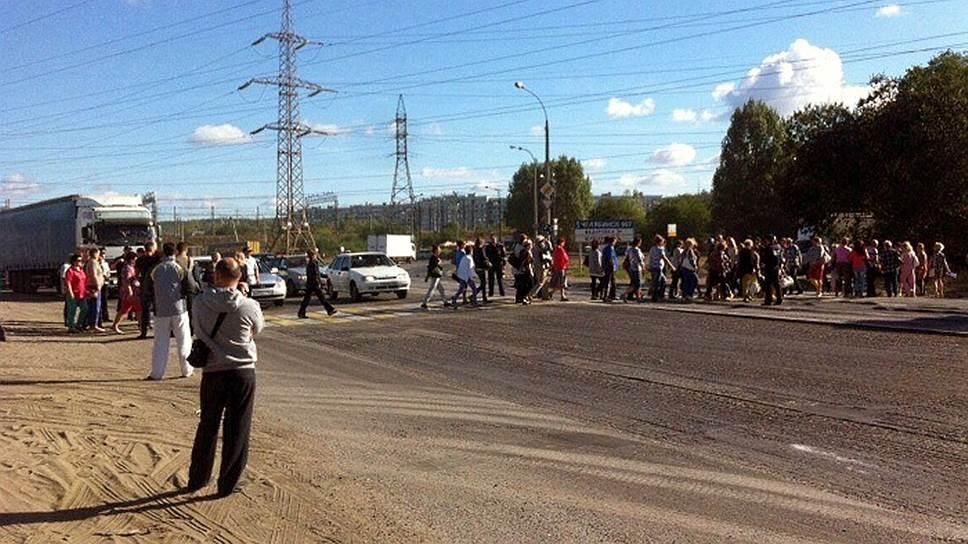 Как сотрудники «АвтоВАЗагрегата» провели акцию протеста