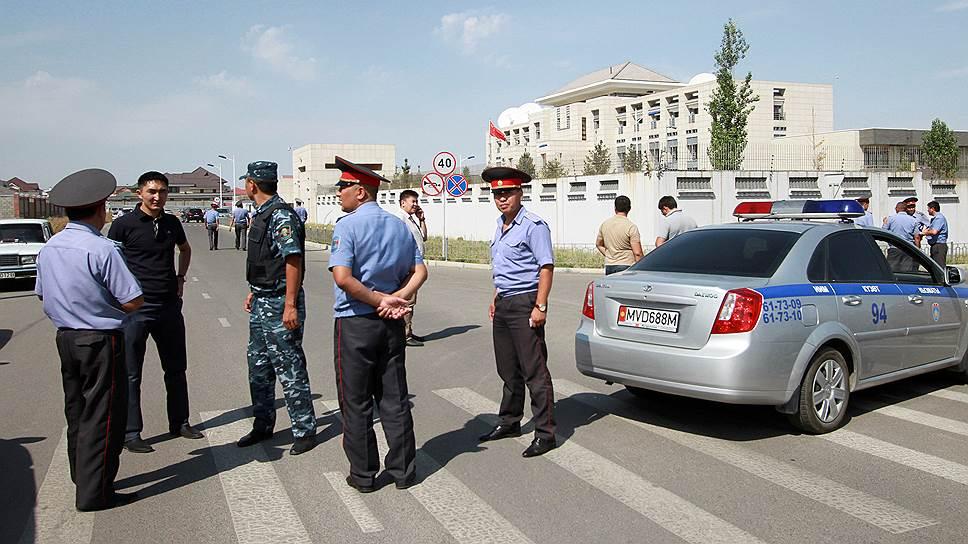 Как смертник атаковал китайское посольство в Бишкеке