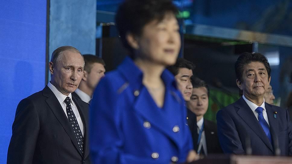Откуда вышли и до чего дошли Владимир Путин, Синдзо Абэ и Пак Кын Хе