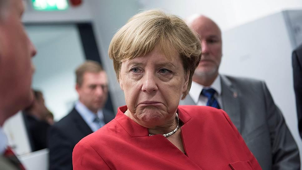 Как Ангеле Меркель дали урок в Восточной Германии