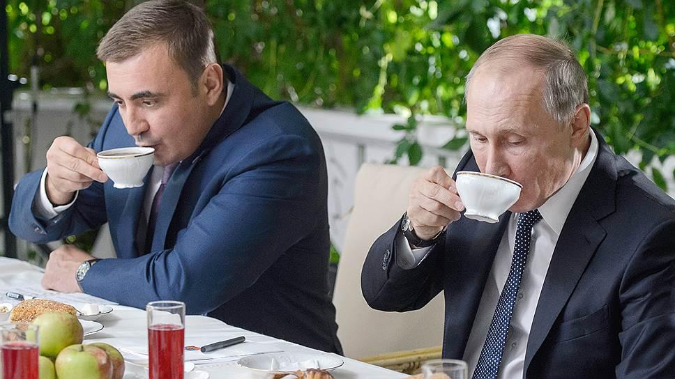 Президент России Владимир Путин и врио губернатора Тульской области Алексей Дюмин все теперь делают вместе
