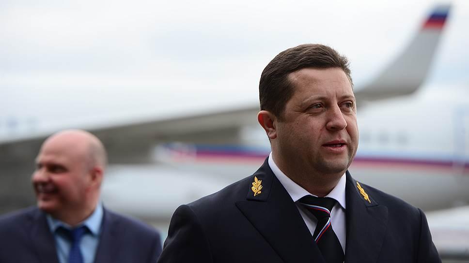Генеральный директор Специального летного отряда (СЛО) «Россия» Ярослав Одинцев