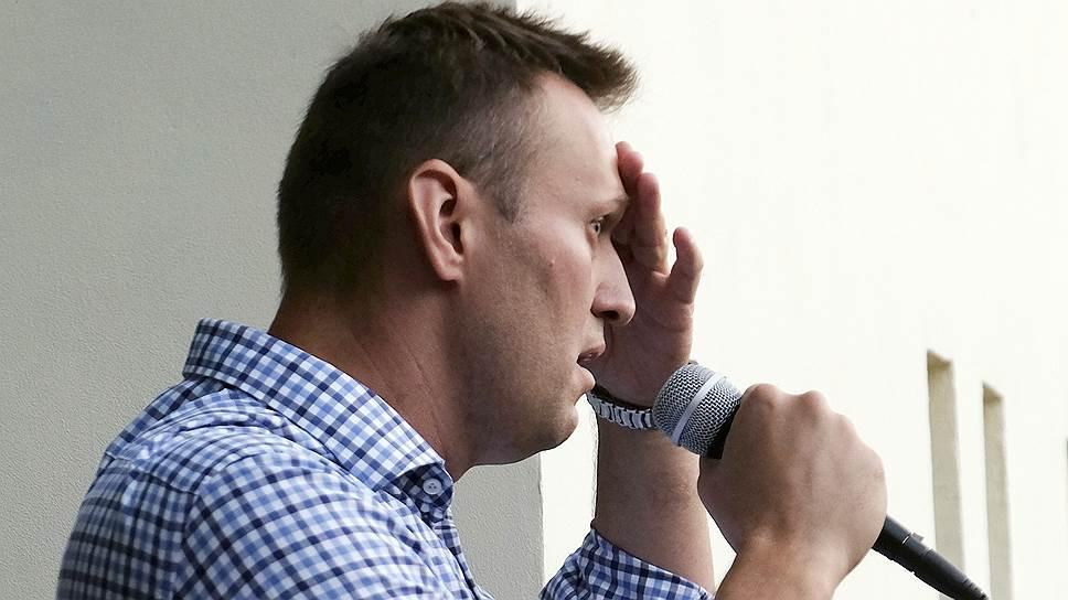 Алексей Навальный призывает Конституционный суд на свою сторону