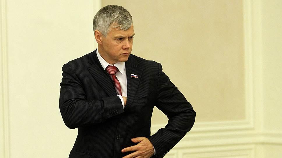 Депутат Госдумы от «Справедливой России» Валерий Гартунг