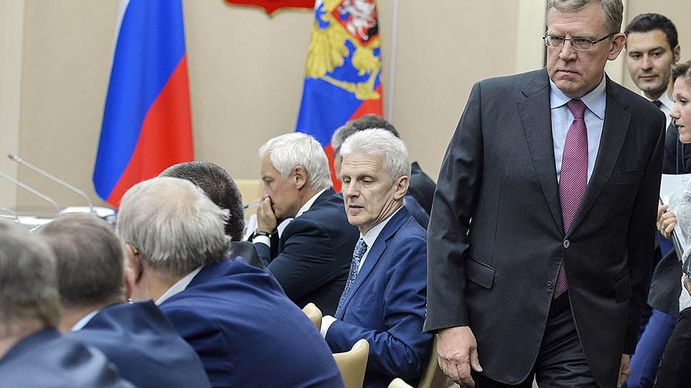 Как правительство будет верстать бюджет при $40 за баррель и Алексее Кудрине