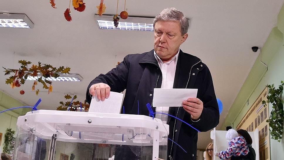 Почему «Яблоко» не признает думских выборов