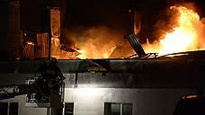 При тушении пожара в Москве погибли восемь сотрудников МЧС