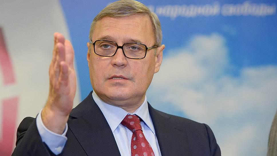 Почему члены ПАРНАС намерены инициировать отставку Михаила Касьянова