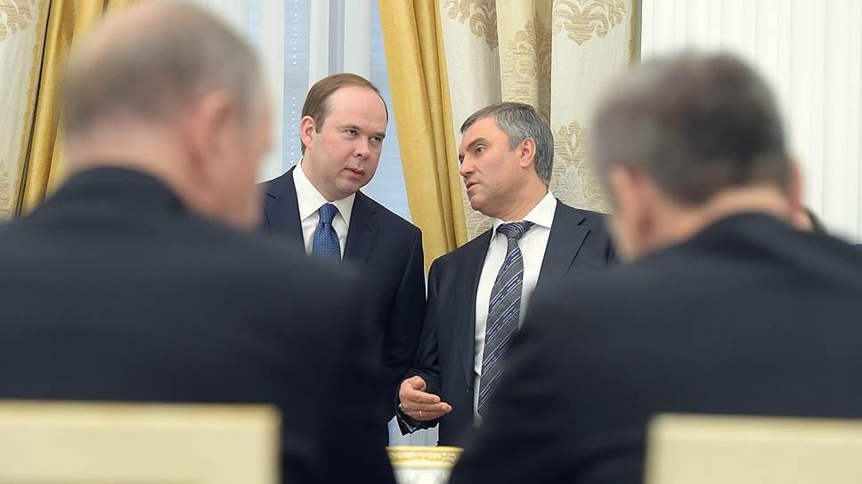 Владимир Путин рекомендовал депутатам Вячеслава Володина на пост спикера
