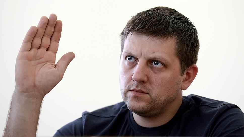 Экс-спикер парламента ЛНР Алексей Карякин