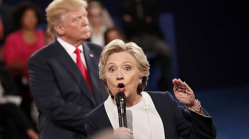 Кандидаты в президенты США провели второй раунд дебатов