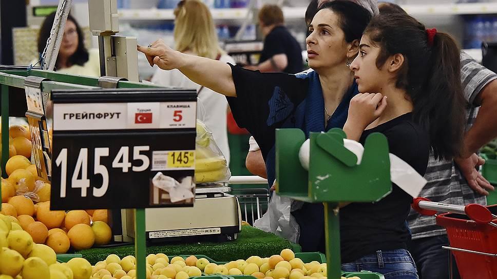 Как турецкие фрукты возвращаются в Россию