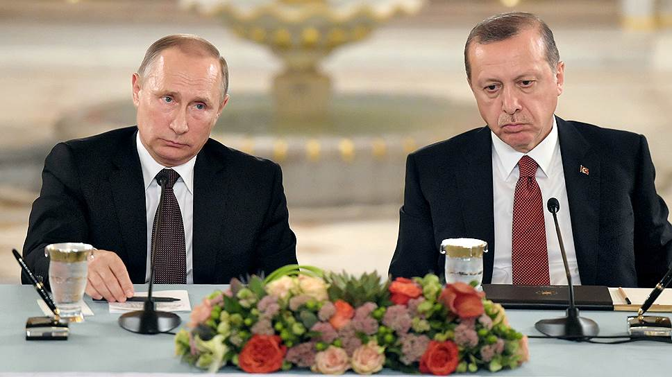 Как Владимир Путин первый раз съездил в Стамбул после замирения