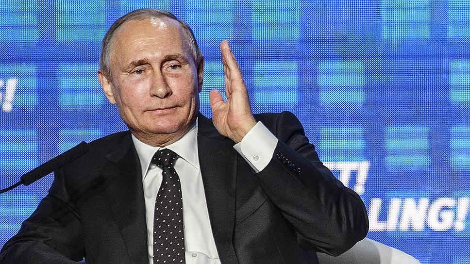 Владимир Путин на форуме «Россия зовет!» не давал скучать ни инвесторам, ни себе