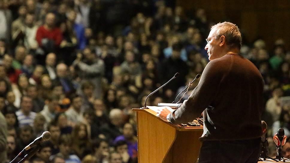 Основатель «Открытой России» Михаил Ходорковский