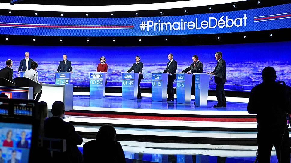 Как прошли первые теледебаты кандидатов в президенты Франции