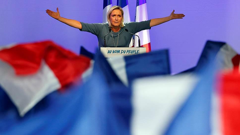 Кандидат в президенты Франции Марин Ле Пен