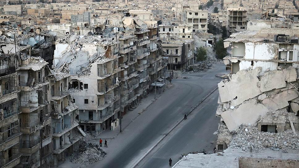 Минобороны России объявило о приостановке авиаударов по Алеппо