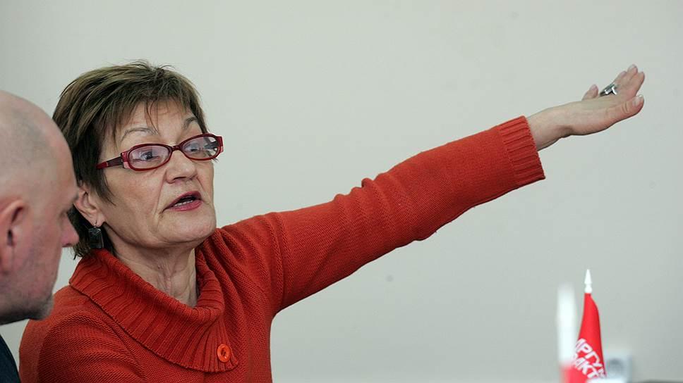 Бывший руководитель межрегионального отделения ассоциации «Голос» Людмила Кузьмина
