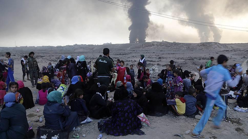 «Исламское государство» прикрывается мирными гражданами как щитом