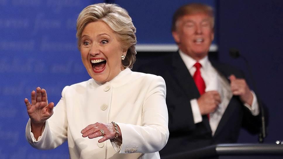 Кандидаты в президенты США Хиллари Клинтон и Дональд Трамп