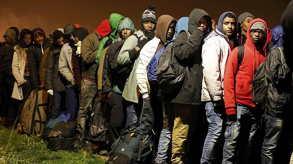 Как происходило переселение обитателей лагеря в Кале