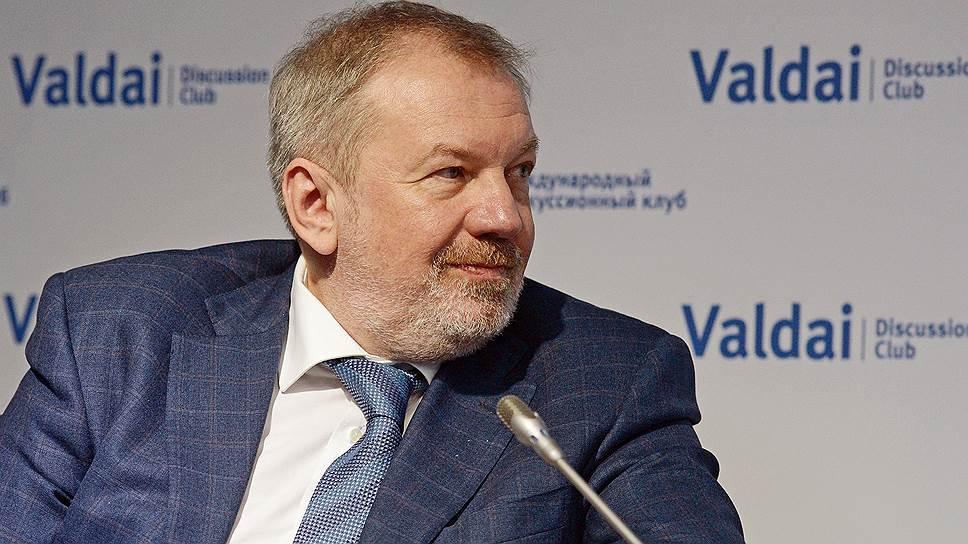 Председатель совета Фонда развития и поддержки клуба «Валдай» Андрей Быстрицкий