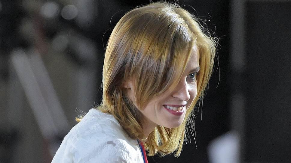 Одним из новых лиц ОНФ станет экс-прокурор Крыма Наталья Поклонская