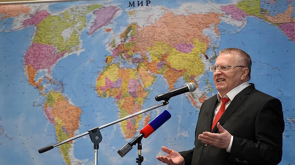 ЛДПР выдвинет кандидатом в президенты Владимира Жириновского