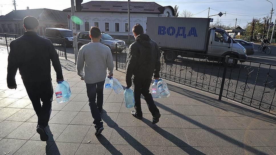Как около 500 человек отравились в Махачкале питьевой водой