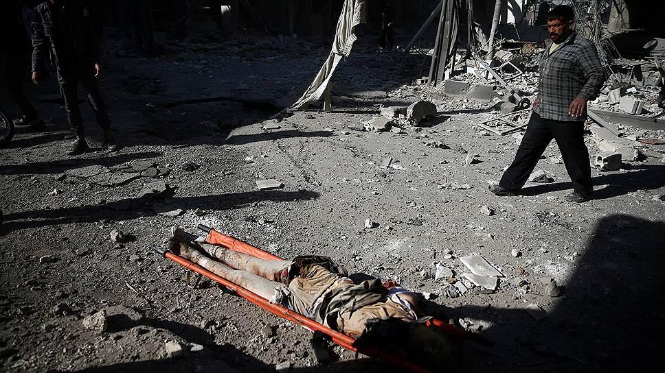 Почему Москва обвиняла сирийских боевиков в применении отравляющих веществ в Алеппо