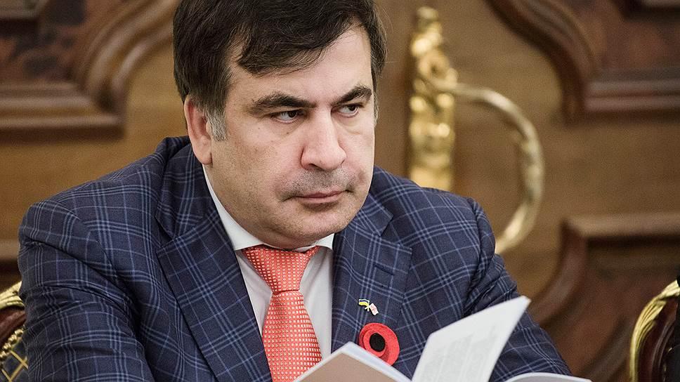 Как Михаил Саакашвили отказался от губернаторства