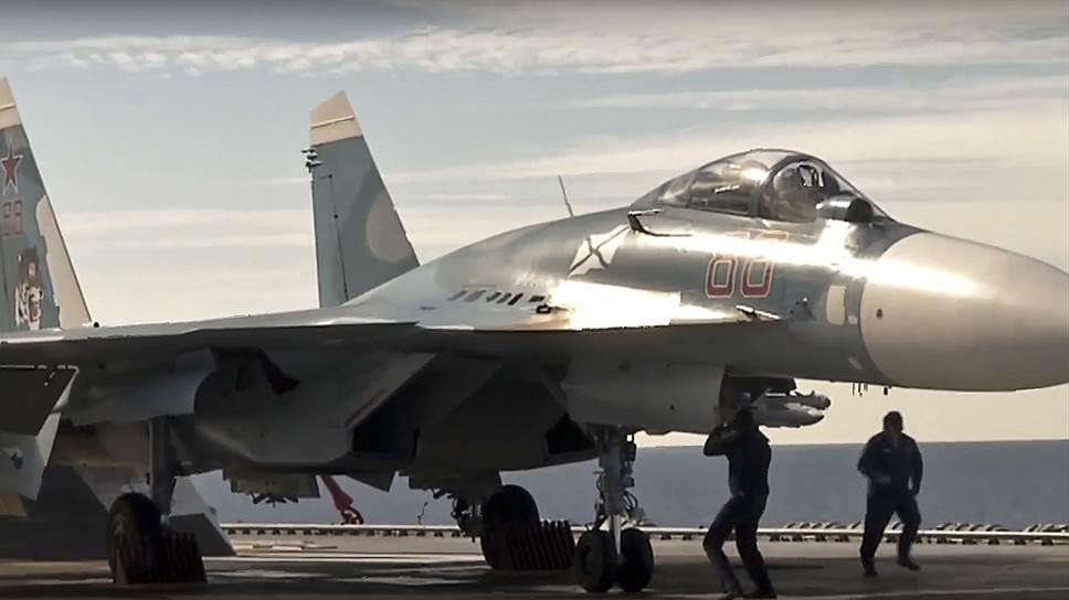 Как «Адмирал Кузнецов» принимал участие в сирийской операции