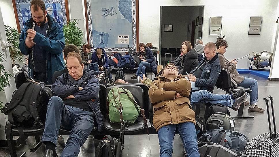 Как члены российской делегации и журналисты кремлевского пула пытались добраться до Лимы