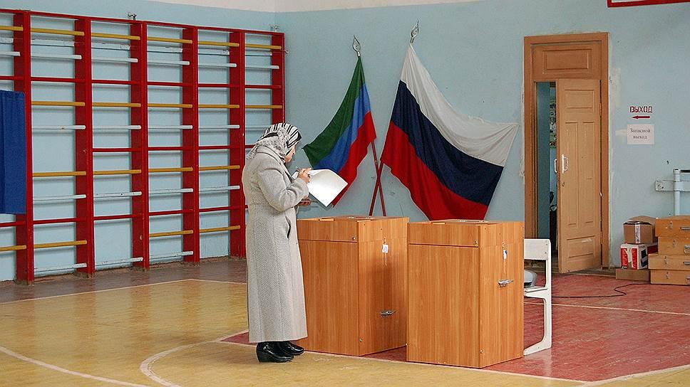 Как в Дагестане заявили об утере списков избирателей в результате дождей