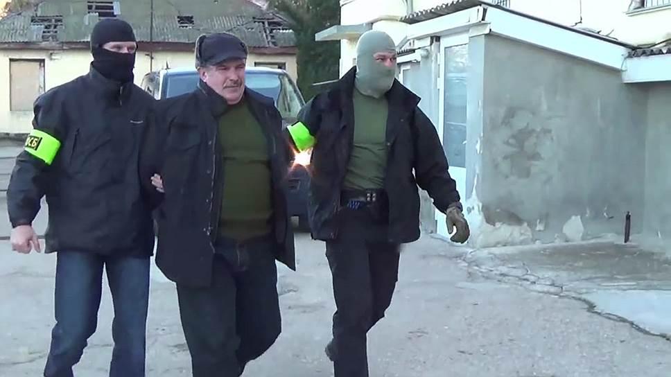 Как экс-офицера Черноморского флота задержали в Крыму