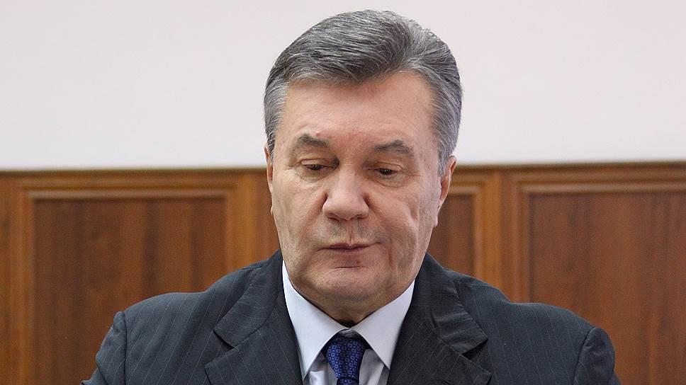 Как Виктор Янукович был допрошен по делу об убийствах протестующих на Майдане