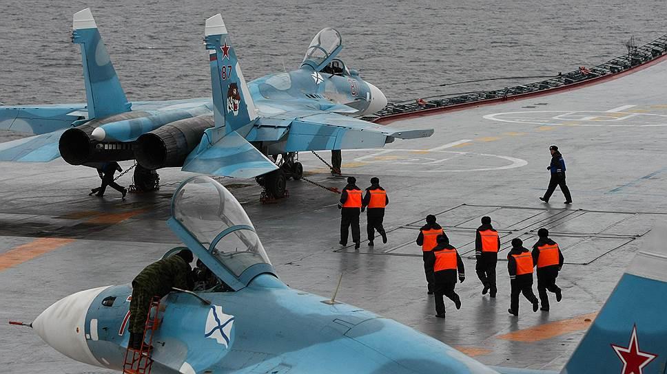 Как «Адмирал Кузнецов» потерял второй истребитель за месяц
