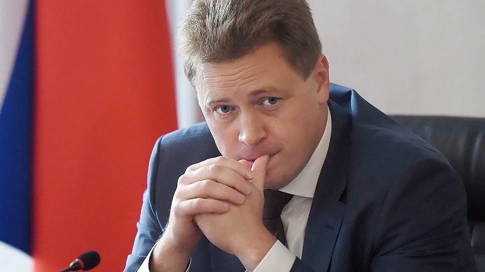 Временно исполняющим обязанности губернатора Севастополя Дмитрий Овсянников