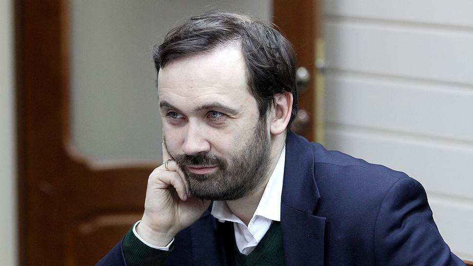 Экс-депутат Госдумы от «Справедливой России» Илья Пономарев
