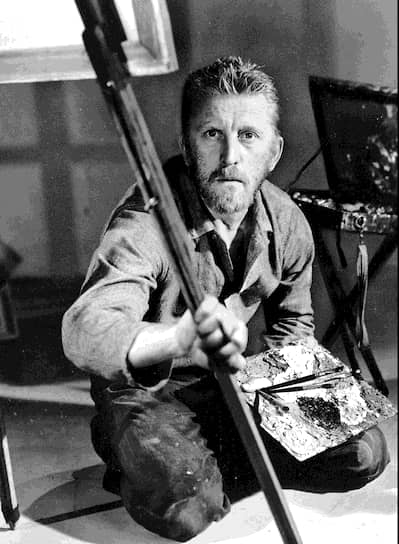 В 1956 году Дуглас сыграл художника Винсента Ван Гога в фильме «Жажда жизни». За эту роль актер получил «Золотой глобус»